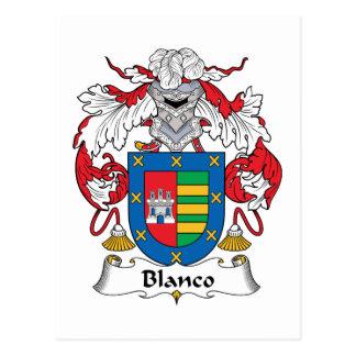 Escudo de la familia de Blanco Postal
