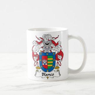 Escudo de la familia de Blanco Taza De Café