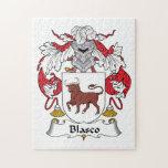 Escudo de la familia de Blasco Puzzles Con Fotos
