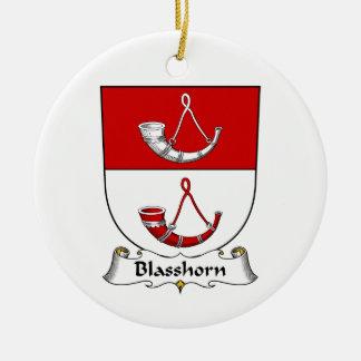 Escudo de la familia de Blasshorn Ornamentos De Reyes Magos
