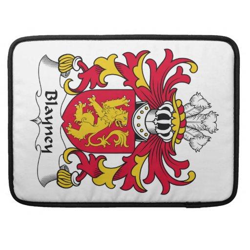 Escudo de la familia de Blayney Fundas Macbook Pro