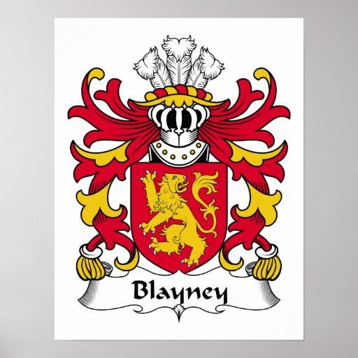 Escudo de la familia de Blayney Impresiones