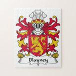 Escudo de la familia de Blayney Rompecabezas Con Fotos