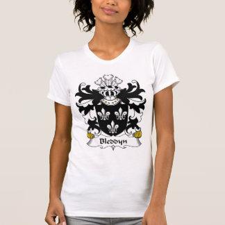 Escudo de la familia de Bleddyn Camisetas