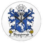 Escudo de la familia de Blegywryd Reloj