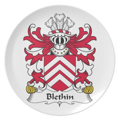 Escudo de la familia de Blethin Plato