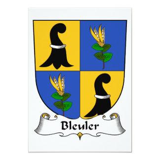 """Escudo de la familia de Bleuler Invitación 5"""" X 7"""""""