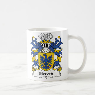 Escudo de la familia de Blewett Taza