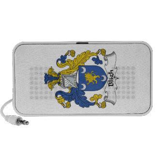 Escudo de la familia de Bligh iPod Altavoces