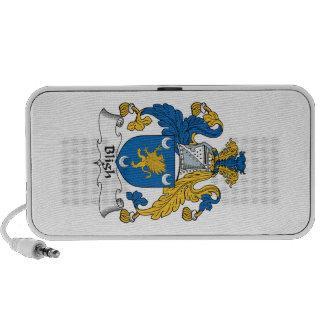 Escudo de la familia de Bligh Laptop Altavoz