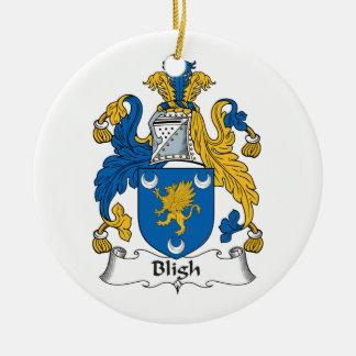 Escudo de la familia de Bligh Ornamento De Navidad