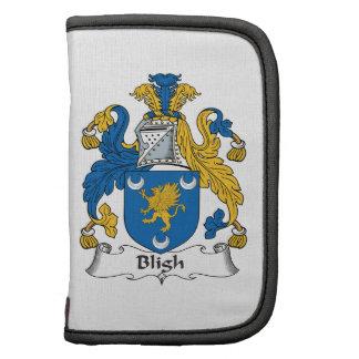 Escudo de la familia de Bligh Organizador