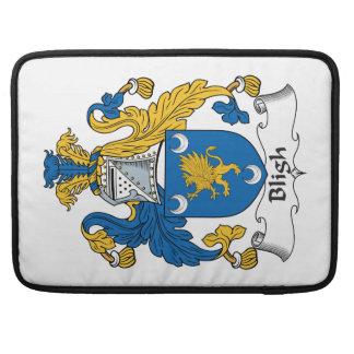 Escudo de la familia de Bligh Funda Para Macbooks