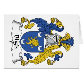 Escudo de la familia de Bligh Felicitaciones