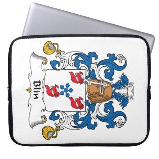 Escudo de la familia de Blin Funda Ordendadores