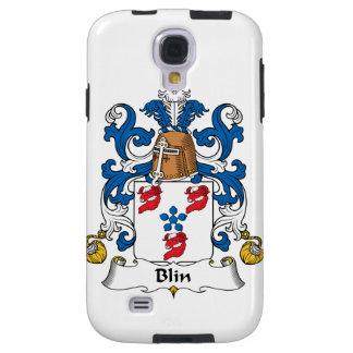 Escudo de la familia de Blin Funda Para Galaxy S4