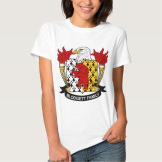 Escudo de la familia de Blodgett Camisas
