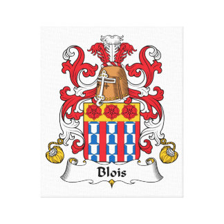 Escudo de la familia de Blois Lienzo Envuelto Para Galerías