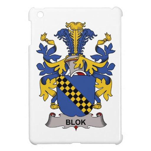 Escudo de la familia de Blok iPad Mini Carcasas