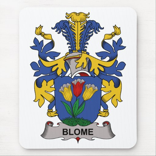Escudo de la familia de Blome Alfombrilla De Raton
