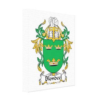 Escudo de la familia de Blondeel Impresiones En Lona Estiradas