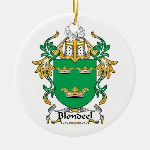 Escudo de la familia de Blondeel Ornatos
