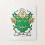 Escudo de la familia de Blondeel Puzzles Con Fotos