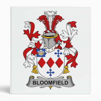 """Escudo de la familia de Bloomfield Carpeta 1"""""""