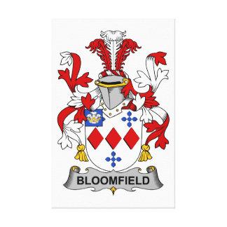Escudo de la familia de Bloomfield Impresión En Lienzo Estirada