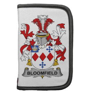 Escudo de la familia de Bloomfield Organizadores