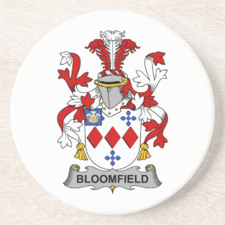 Escudo de la familia de Bloomfield Posavasos Personalizados