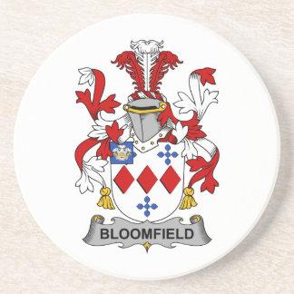 Escudo de la familia de Bloomfield Posavasos Diseño
