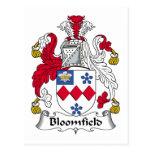 Escudo de la familia de Bloomfield Postal