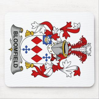 Escudo de la familia de Bloomfield Tapete De Raton