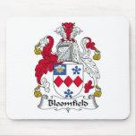Escudo de la familia de Bloomfield Alfombrilla De Raton