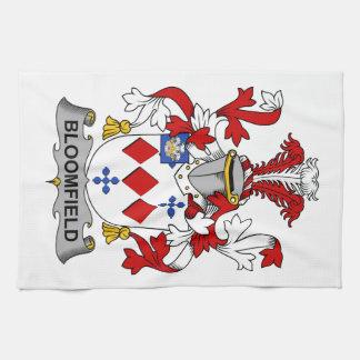 Escudo de la familia de Bloomfield Toallas