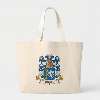 Escudo de la familia de Blouin Bolsas De Mano