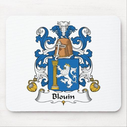 Escudo de la familia de Blouin Alfombrilla De Ratones