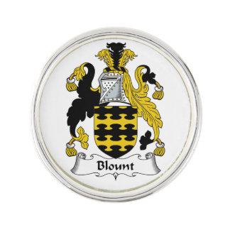 Escudo de la familia de Blount Pin