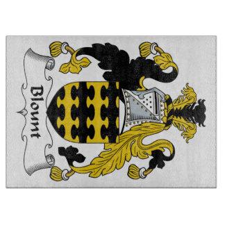 Escudo de la familia de Blount Tablas De Cortar