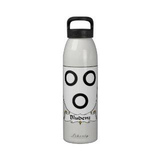 Escudo de la familia de Bludenz Botellas De Agua Reutilizables