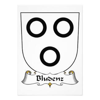 Escudo de la familia de Bludenz Anuncio