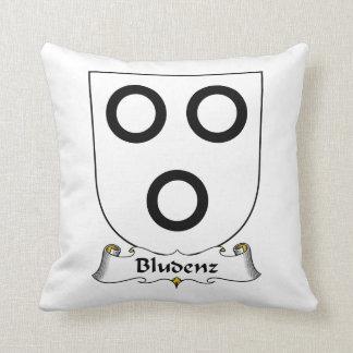 Escudo de la familia de Bludenz Cojin