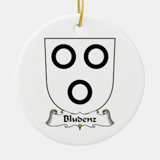Escudo de la familia de Bludenz Ornamentos De Reyes