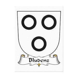 Escudo de la familia de Bludenz Impresiones De Lienzo