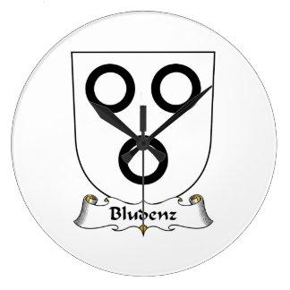 Escudo de la familia de Bludenz Relojes