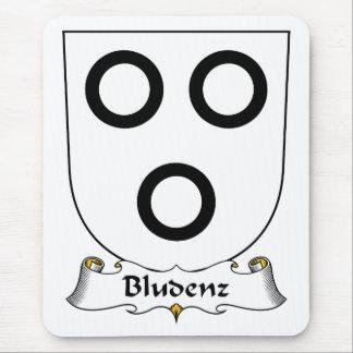 Escudo de la familia de Bludenz Tapetes De Ratones