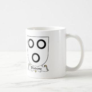 Escudo de la familia de Bludenz Taza De Café