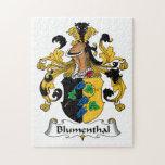 Escudo de la familia de Blumenthal Puzzles Con Fotos