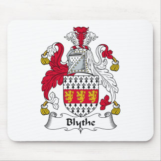 Escudo de la familia de Blythe Tapete De Ratones